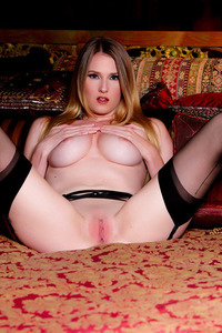 Ashley Lane Teasing Her Pussy 13