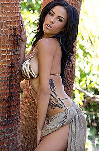 Beautiful Exotic Playmate Kylie Johnson