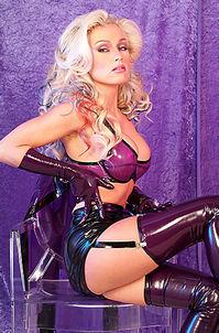 Hot Monique Vegas Sexy Latex Fetish Gallery