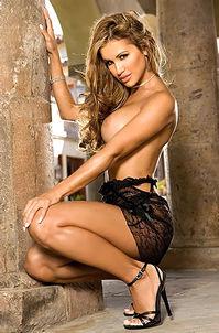 Jennifer Walcott Hot Busty Playboy Babe