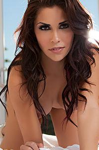 Sexy Brunette Playboy Babe Chelsie Farah - Majestic Beauty