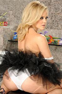 Alexis Texas In Sweet  Tulle Skirt