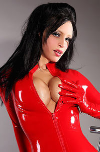 Wrapped In Red Latex
