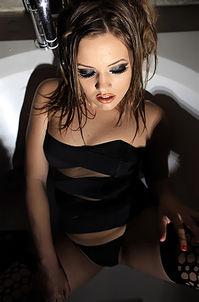 Ashlynn Leigh  Black Fishnet
