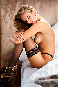 Beautiful International Model Beau Hesling