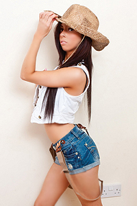 Little Cow Girl Costume