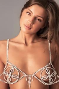 Amazing Brunette Melena A