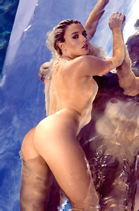 Sexy Playmate Monica Sims