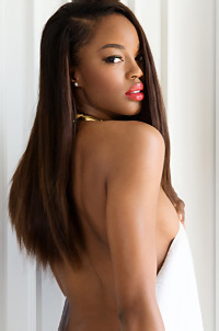 Hot Ebony Beauty Eugena Washington