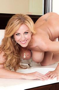 Julia Ann Strips Naked
