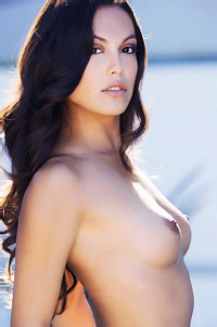 Beautiful Playmate Raquel Pomplun