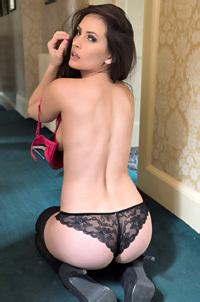 Anastasia Harris In Stockings