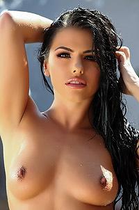 Adriana Chechik Strips Off Her Bikini