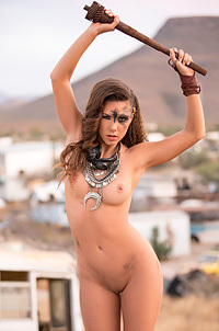 Gia Ramey Gay -Mad Max Style