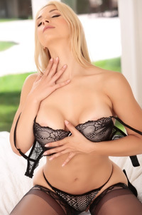 Busty Mature Babe Sarah Vandella Teases In Sexy Lingerie