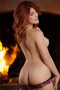 Molly Stewart In Fiery Fantasy