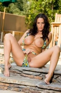 Busty Carmella Bing Bikini