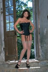 Veronika In Corset And Stockings 00