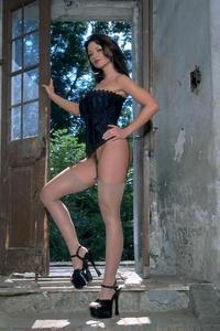 Veronika In Corset And Stockings 03