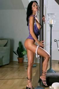Veronika Zemanova Falls Out Of Her See-Thru Top 05