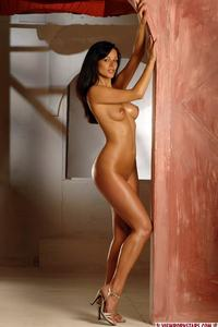 Nude Brunette Beauty 09