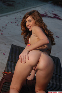 Shay Laren Hot Bikini Strip 10