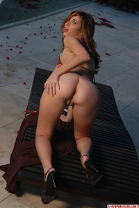 Shay Laren Hot Bikini Strip 11