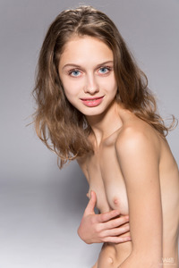 Young Brunette Teen Sonia In The Spotlight 18