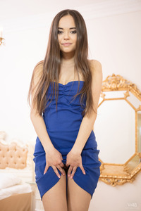 Li Moon In Blue Dress 03