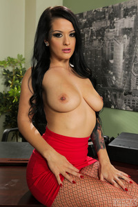 Sexy Black Haired Secretary 14