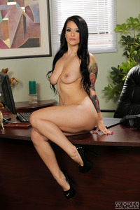Sexy Black Haired Secretary 21