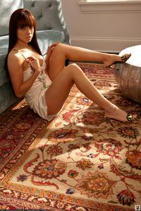 Allie Stacy Sexy Brunette Playboy Babe 07