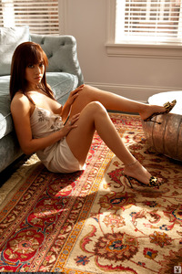Allie Stacy Sexy Brunette Playboy Babe 08