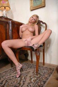 Busty Zuzana Strips Off Her Dress 03